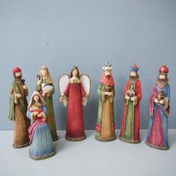RP Heilige Familie 7-tlg. stehend 12-16 cm