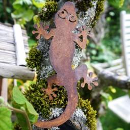 Salamander kletternd mit Dorn, ROST