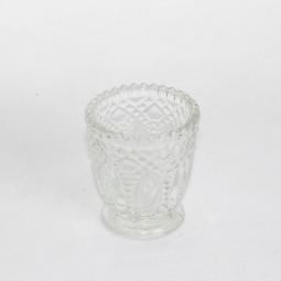Teelichthalter natur 7,5x8 cm