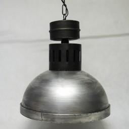 RP Industrielampe flach rund