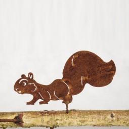 Eichhörnchen GR laufend, mit Dorn
