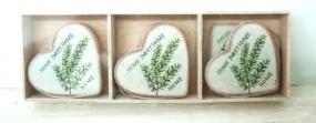 RP Holzbox m. 9 Herzen