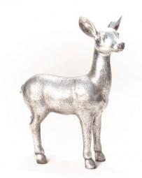 stehendes Reh Poly, 41,5x15, h= 56 cm