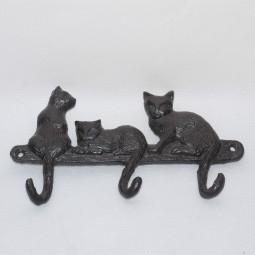 Wandbord 3 Katzen