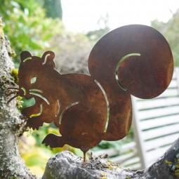 Eichhörnchen mit Dorn ROST