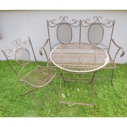 Tisch rustico klappbar rund