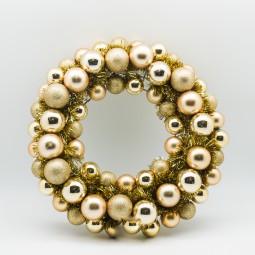 Kugelkranz GOLD d= 45 cm