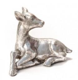 liegendes Bambi Poly, 39,5x19,5, h= 31 cm