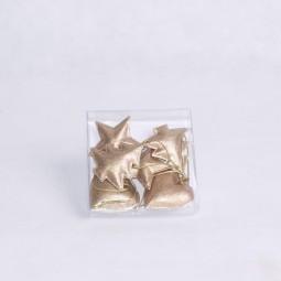 RP Stern/Baum/Herz 6tlg. GOLD