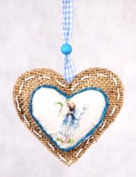 RP Herz zum Hängen mit Elfenmotiv