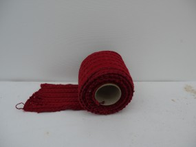 RP Strickband ROT auf Rolle