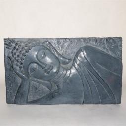 RP Wandtafel m. Buddha grau