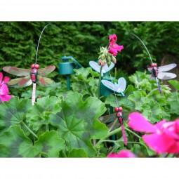 RP fliegende Libellen SOLAR auf Stab, 3 Fbg