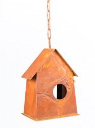 Vogelhaus klein a. Kette 14x10,5 cm