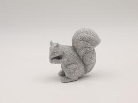 Eichhörnchen mini silber h= 11,5 cm