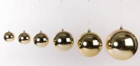 Plastikkugel zum Hängen, GOLD, 18 cm
