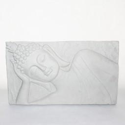 RP Wandtafel m. Buddha zementfarben