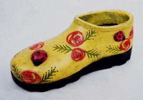 RP Schuh flach gelb resin