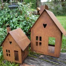 Haus klein zum Stellen ROST